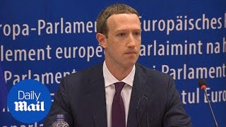 I'm sorry: Mark Zuckerberg apologises for Facebook data breach - Daily Mail
