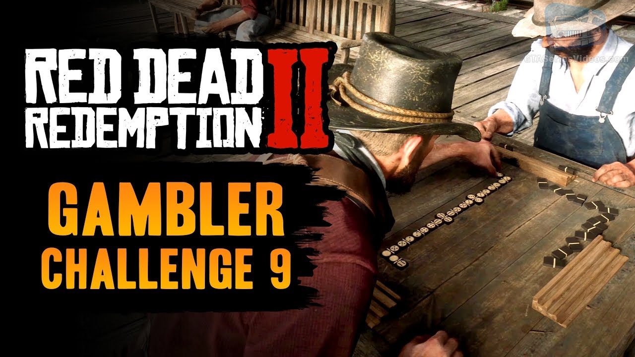 Red Dead Redemption 2 Gambler Challenge #9 Guide - Win 3 games of Dominoes in a row