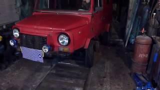 Установка двигателя ваз-2101 на автомобиль ЛуАЗ