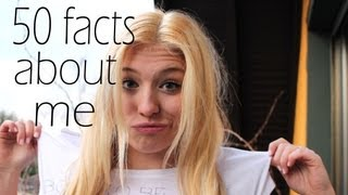 50 facts about me | 50 Fakten über mich TAG