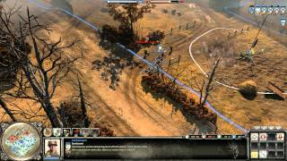 Company of Heroes 2 Gameplay: Kubel Rushed | 2v2 AT on Moscow Outskirts