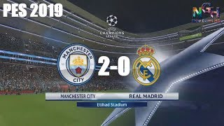 MAN CITY 2 0 REAL MADRID UEFA CHAMPOIN LEAGUE