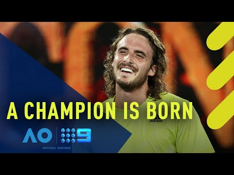 Stefanos Tsitsipas' incredible humilty after record-defying comeback | Wide World of Sports