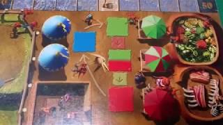 [34-2 DungeonPetz] Настольная игра Питомцы подземелии (Dungeon Petz), начальная раскладка