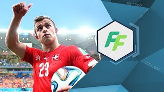 One-on-one with Xherdan Shaqiri