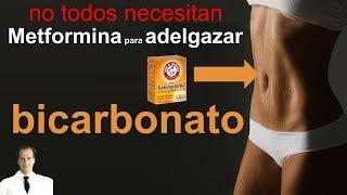 Bicarbonato para adelgazar (grasa del abdomen o estómago inflamado)