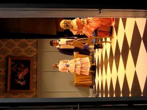 Tartuffe - Orgon Silences Dorine - American Univer...