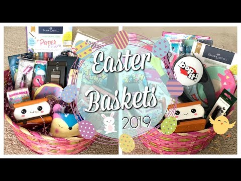 WHAT I GOT MY KIDS FOR EASTER 2019 | WATCH ME FILL THEIR BASKETS | GIRLS EASTER BASKET IDEAS
