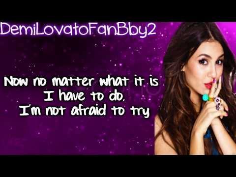 Victoria Justice - You're The Reason (Karaoke Lyrics On Screen) HD