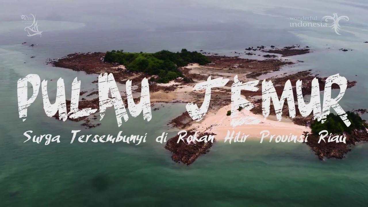Pesona Pulau Jemur Kabupaten Rokan Hilir Pariwisata Riau