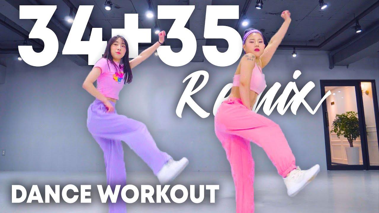[Dance Workout] Ariana Grande - 34+35 (Remix) (ft. Doja Cat & Megan Thee Stallion) | Dance Workout