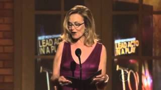 Jessica Lange presenting at the Tony Awards 2009