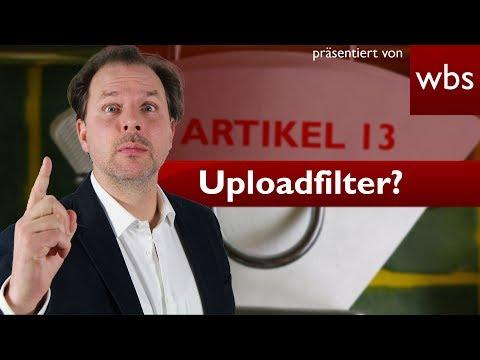 Kommen jetzt die Uploadfilter? - Parlament stimmt für neues Urheberrecht | RA Christian Solmecke