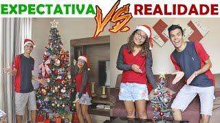 EXPECTATIVA VS REALIDADE NO NATAL! - KIDS FUN