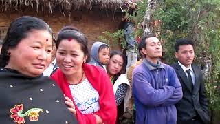 Viral video Nepal Asian wedding ceremony nepal  Birgha syangja nepal village magar  bimla rana