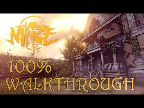 Maize 100% Walkthrough - All Collectibles - Trophy & Achieve