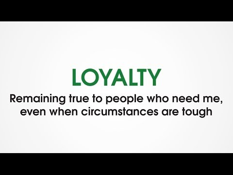 (P4) Loyalty - Character Trades. Character traits games for kids.