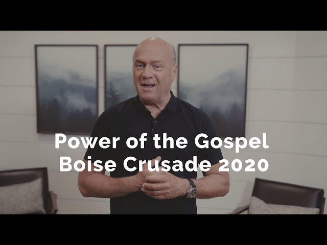 Power of the Gospel: Boise Crusade 2020