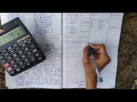 Accounting for partnership firms (PROFIT AND LOSS APPROPRIATION ACCOUNT PART-2)