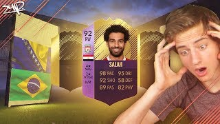 2x 86+ IF's uit de 92 POTM SALAH SBC!    FIFA 18 Nederlands