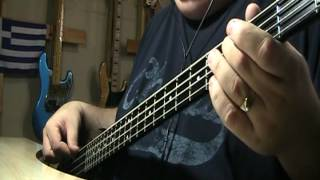 Tony Orlando & Dawn Tie A Yellow Ribbon Round The Ole Oak Tree Bass Cover