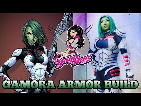 Gamora Armor Build  Guardians of the Galaxy Marvel Comic