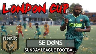 SE DONS vs DUMLUPINAR | BEST TEAM IN LONDON | Sunday League Football