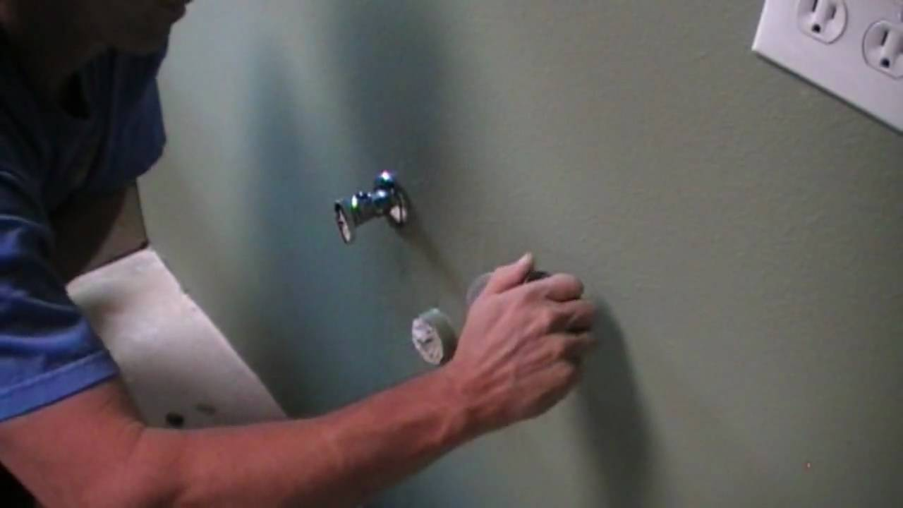 Installing Bathroom Faucet Shut off Valves - Plumbing Tips - YouTube