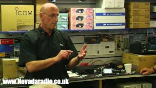 icom ic 7100 transceiver preview with john turner at nevada radio uk