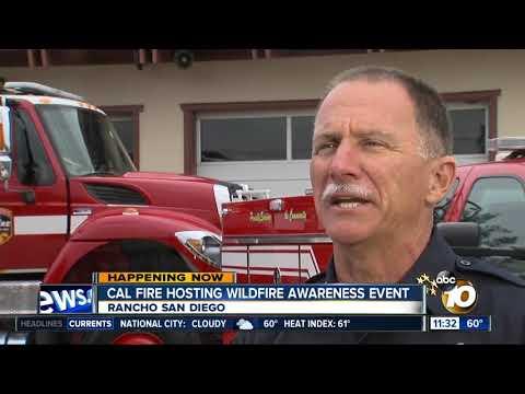 Cal Fire hosting wildfire awareness week
