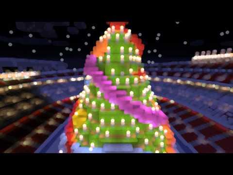 Minecraft - MEGABUILD - Camp Nou Christmas Edition + DOWNLOAD [Official]