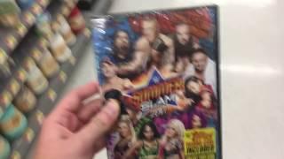 WWE DVD Run Summerslam 2017 DVD Pickup