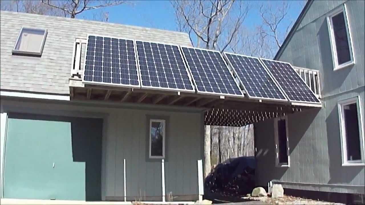 Solar Energy Simple Home Solar Diy Grid Tie Solar Panels Youtube