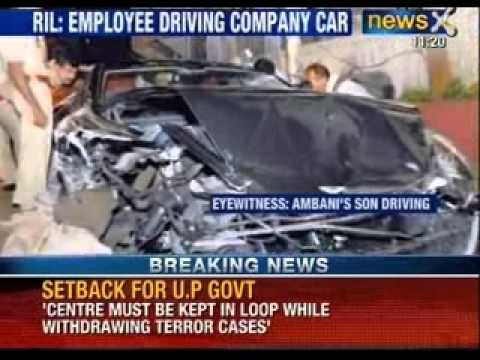 Mukesh Ambani Reliance Port Aston Martin crash: Now Driver owns up the responsibility - NewsX Travel Video