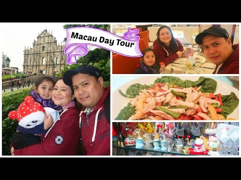 Macau Day Tour: Buffet lunch and St. Paul Ruins| Chubbyfam Holidays