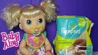 Baby Alive Real Surprises--Feeding Sophia!
