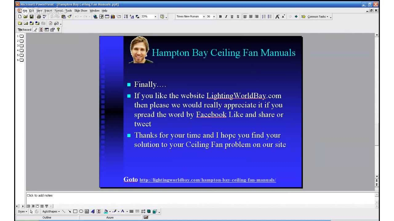maxresdefault hampton bay ceiling fan manuals youtube Hampton Bay Fan Wiring Diagram at gsmx.co