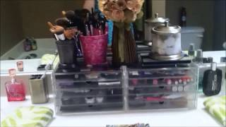 Bathroom/Makeup Organization and Makeover, Spring Decor and More! - OrganizingObsession Thumbnail