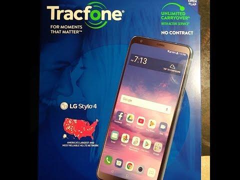 Tracfone LG Stylo 4 Unboxing asmr