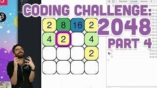 Coding Challenge #94.4: 2048 - Part 4