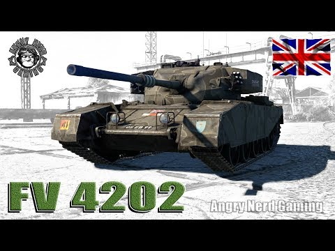 War Thunder: FV4202, British, Tier-4, Medium Tank