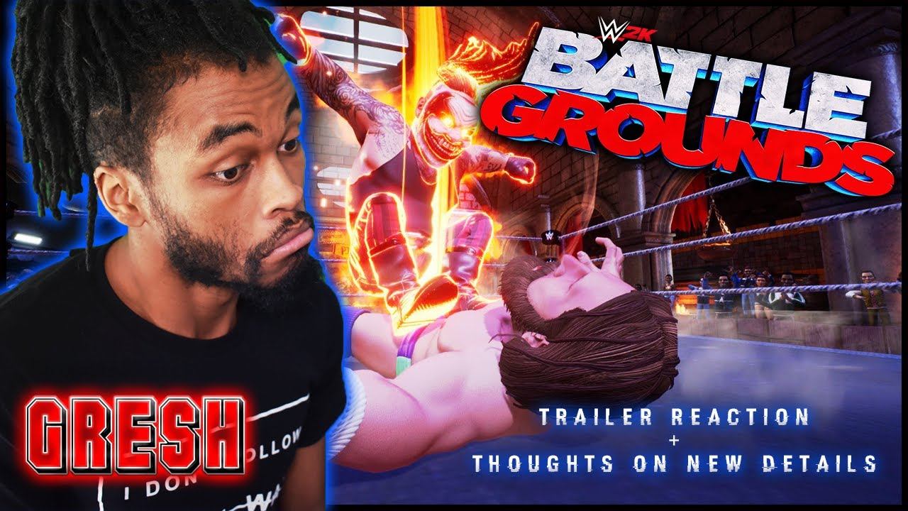 Reaction: New WWE 2K Battlegrounds Information, Trailer and more