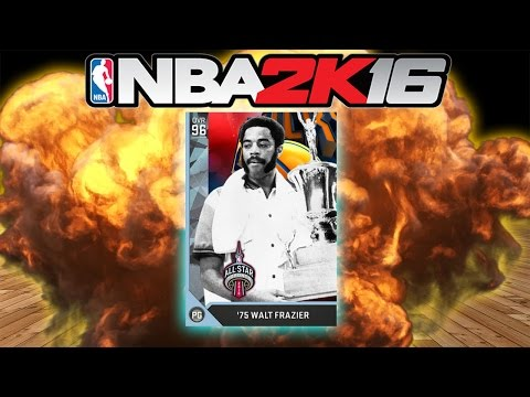 DIAMOND WALT FRAZIER!!! - NBA 2K16 MyTeam