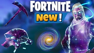 Fortnite BR: New Leaked Galaxy Skin Glider, Harvesting Tool, and Backbling in FortniteMares Update!!