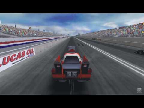 NHRA: Drag Racing Countdown to the Championship PSP Gameplay HD