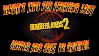 Borderlands 2 Tips for Farming: Sniper Critical hit vs Damage Acc