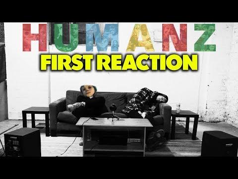 GORILLAZ - HUMANZ FIRST REACTION/REVIEW (JUNGLE BEATS)