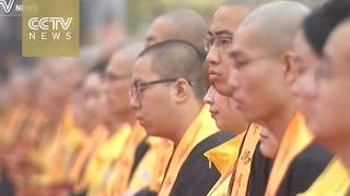 Chinese Buddhism promotes ties and influence