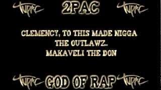 2Pac ft. Outlawz - Made niggaz  whit lyrics