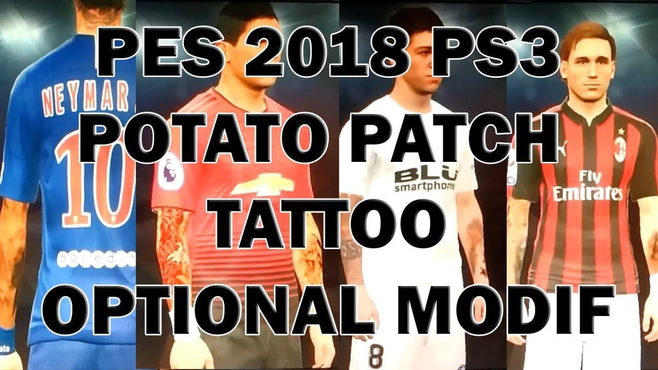 pes 2018 ps3 nemeziz patch download